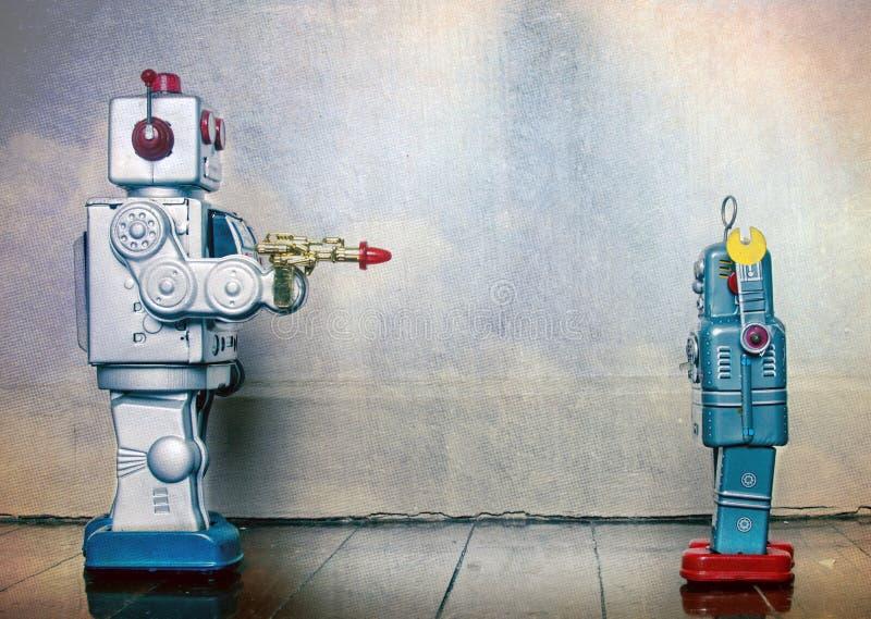 Роботы crim оружия стоковая фотография rf