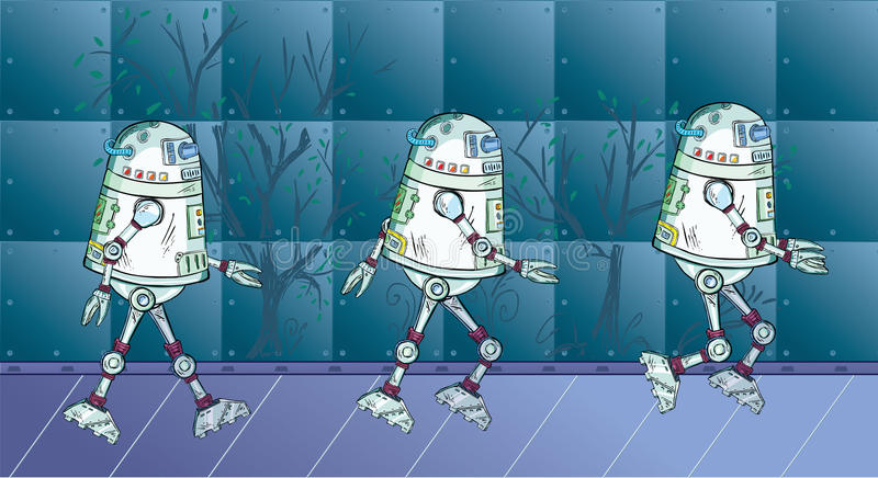 робот движения бесплатная иллюстрация