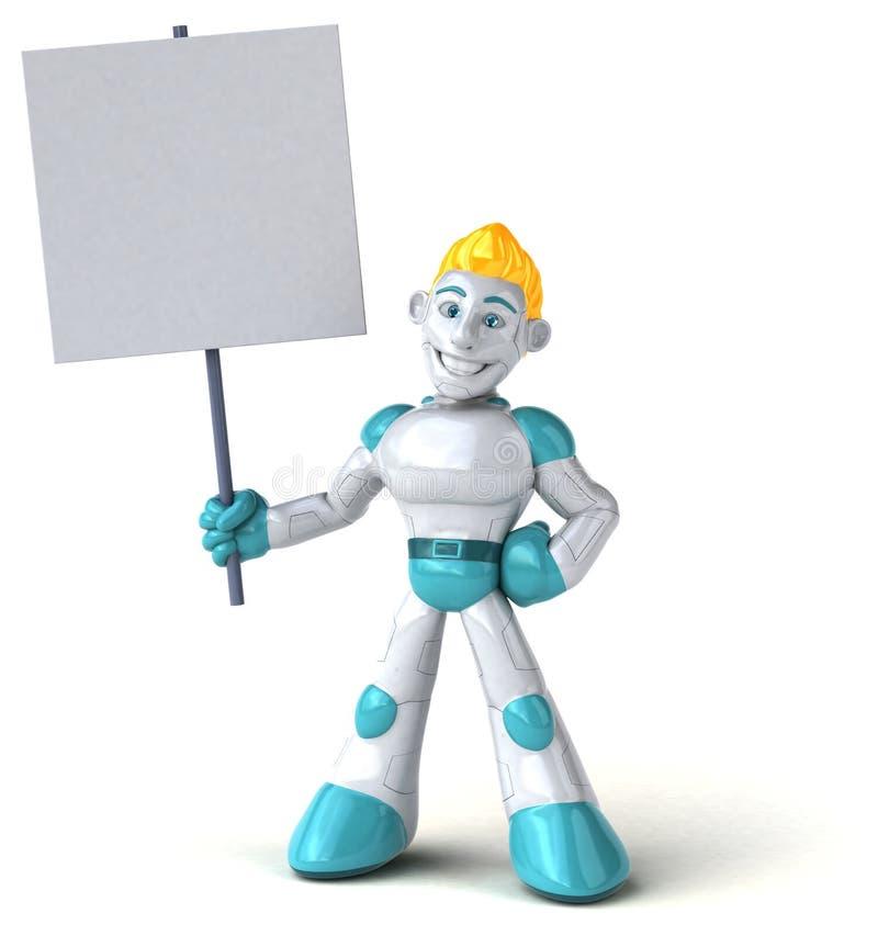 Робот - иллюстрация 3D бесплатная иллюстрация