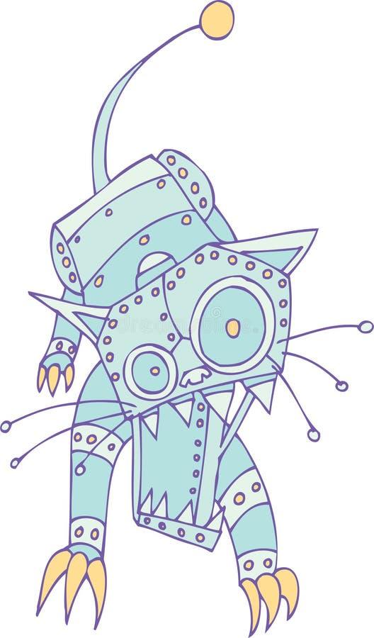 робот кота бесплатная иллюстрация