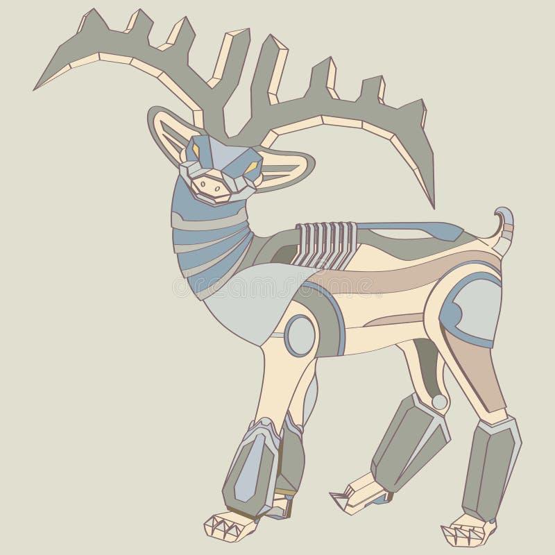 Робот оленей бесплатная иллюстрация