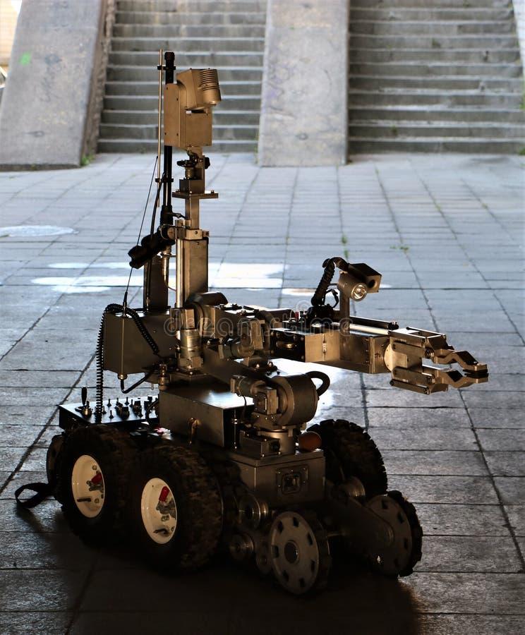 Робот полиции стоковые фотографии rf