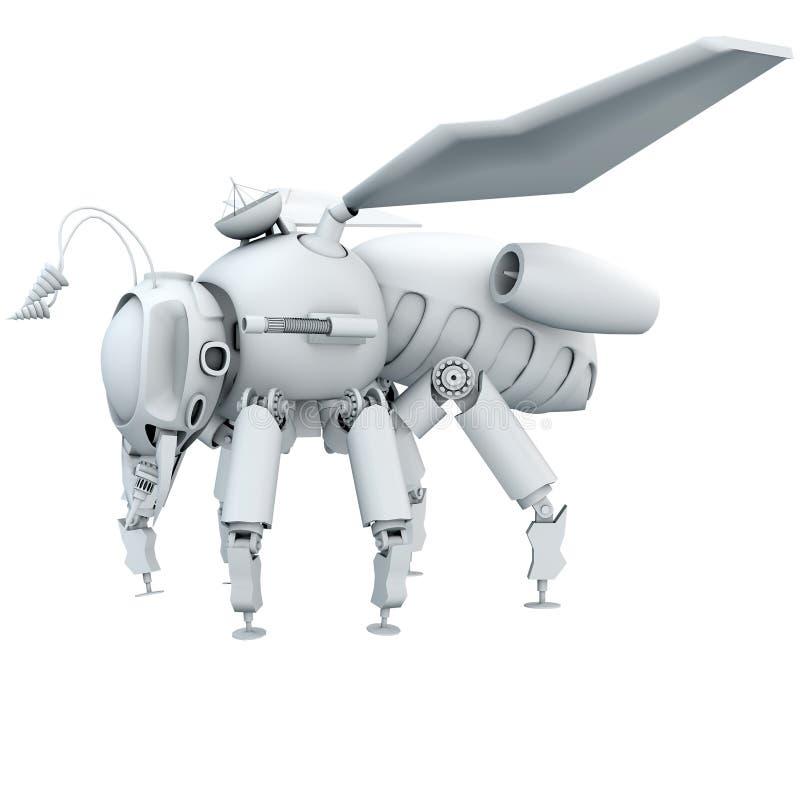 Робот пчелы стоковые изображения rf