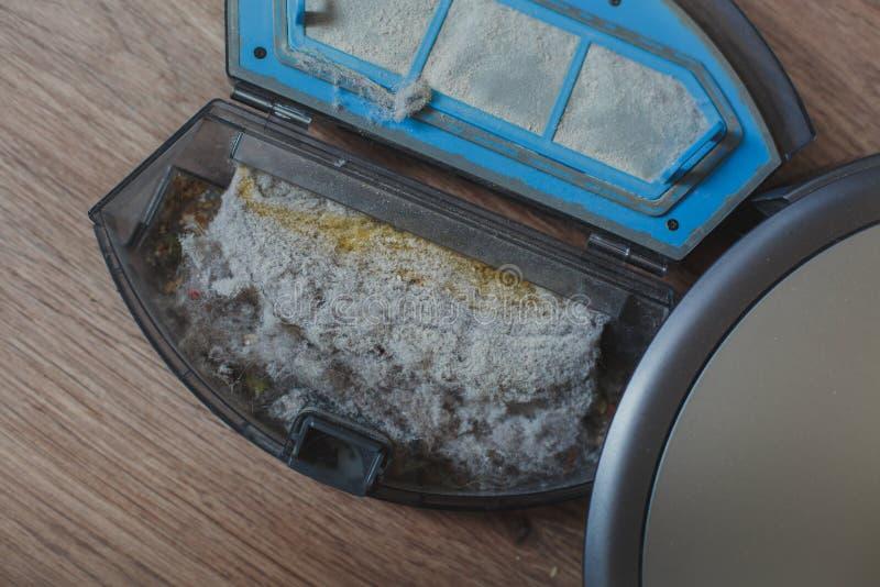 Робот пылесоса стоковое изображение rf