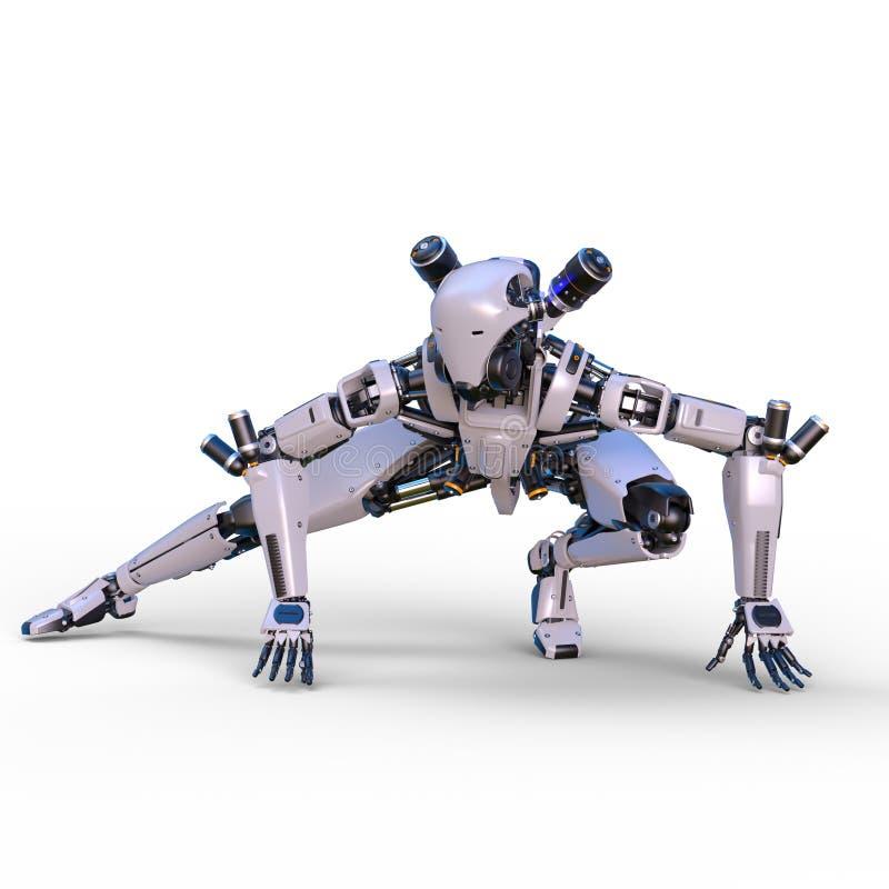 Робот сражения бесплатная иллюстрация