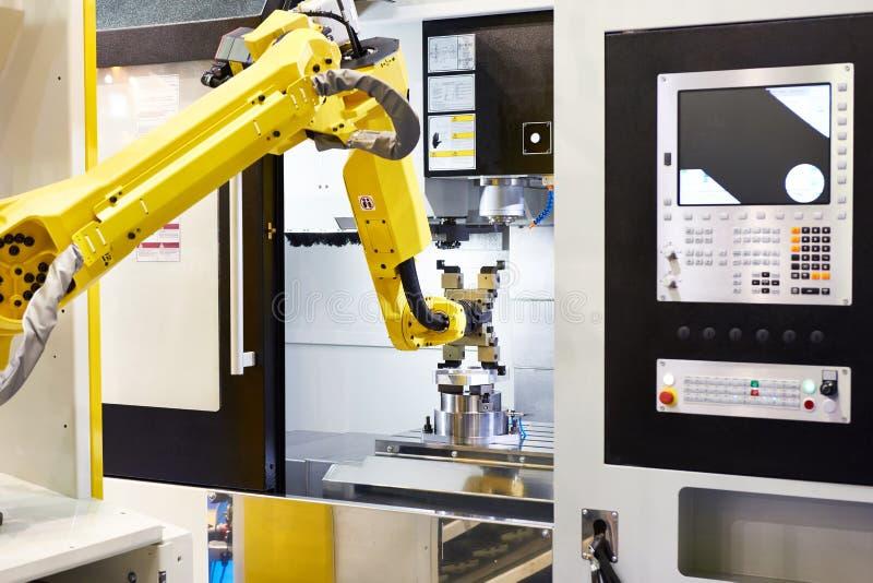 Робот стандарта всеобщий промышленный стоковое изображение