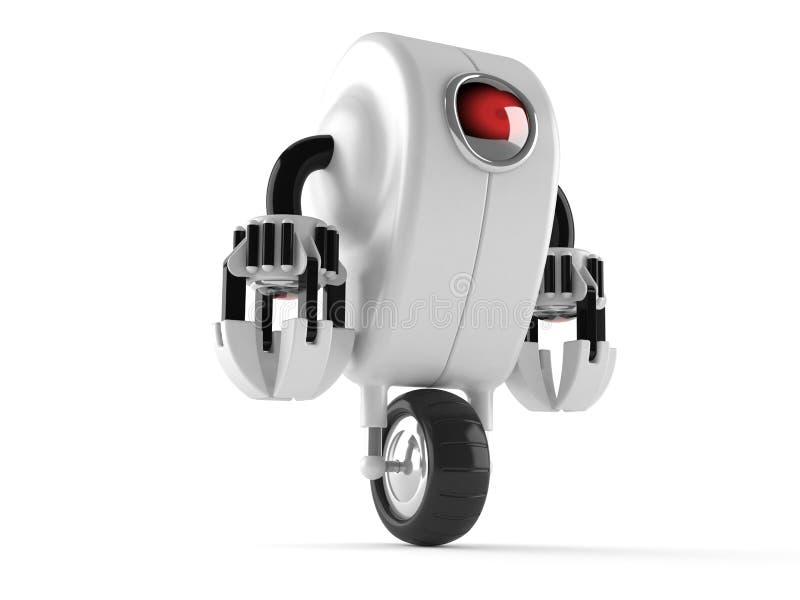 Робот иллюстрация штока