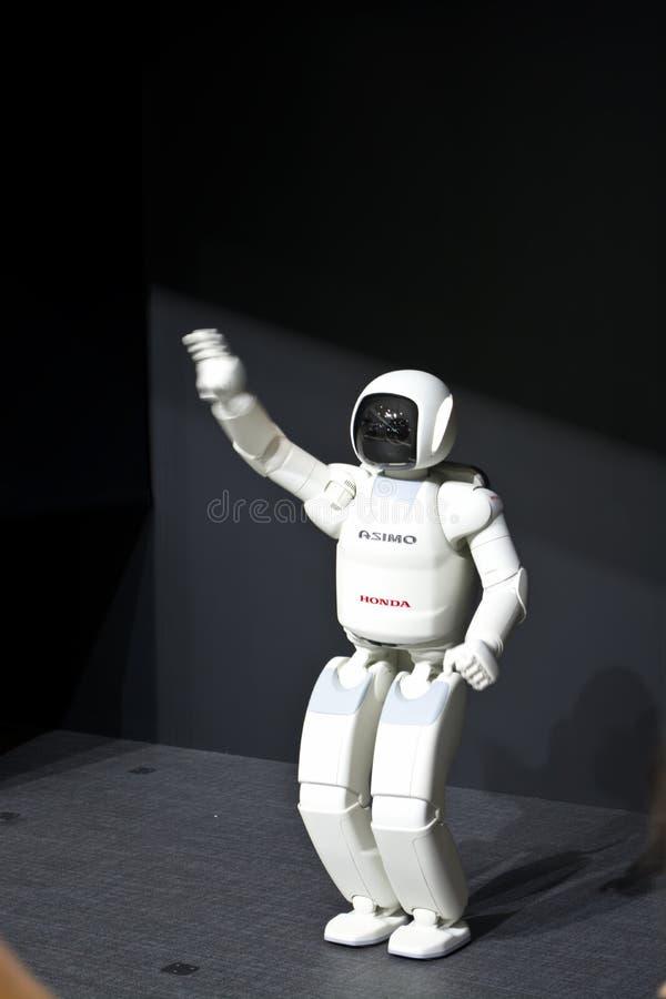 Робот Ashimo стоковые изображения