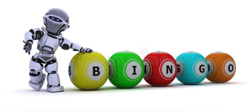 робот bingo шариков иллюстрация штока