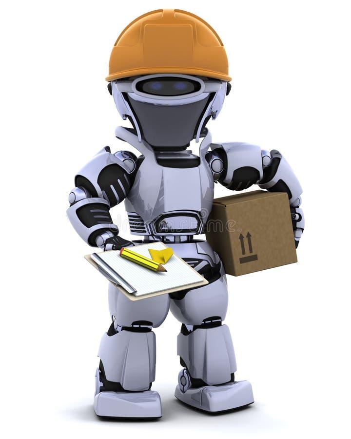 робот hardhat clipboard бесплатная иллюстрация