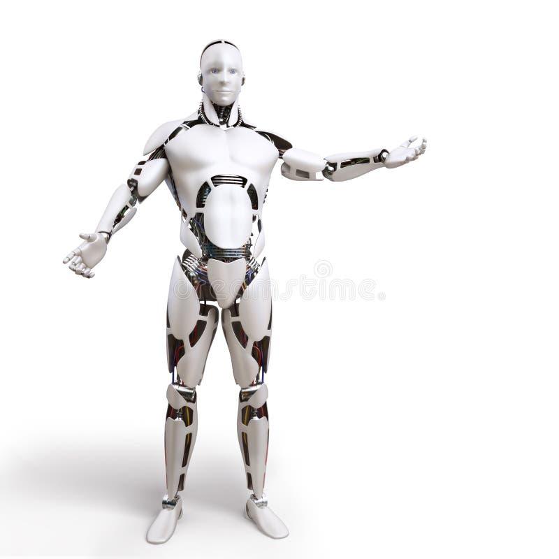 робот p1 иллюстрация вектора
