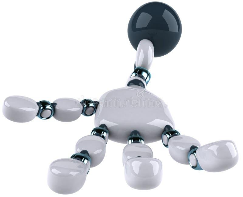 робот s рукоятки бесплатная иллюстрация