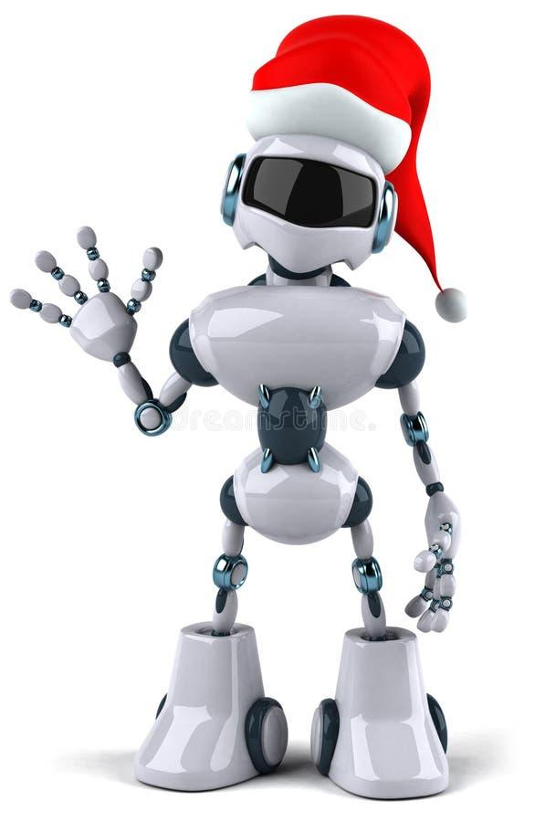 робот santa бесплатная иллюстрация