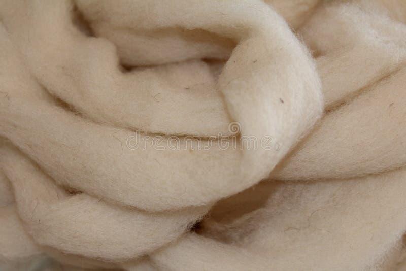 Ровинца шерстей овец стоковые фотографии rf