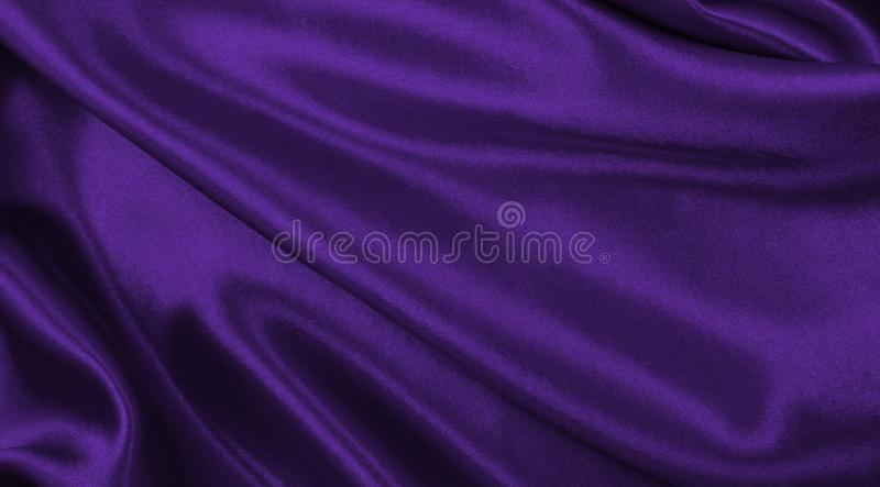 Ровная элегантная текстура ткани шелка или сатинировки сирени роскошная как абстрактная предпосылка Роскошный дизайн предпосылки стоковые фотографии rf