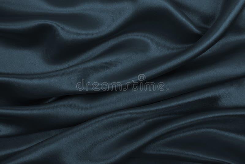Ровная элегантная темная серая текстура шелка или сатинировки как абстрактное backg стоковые изображения rf