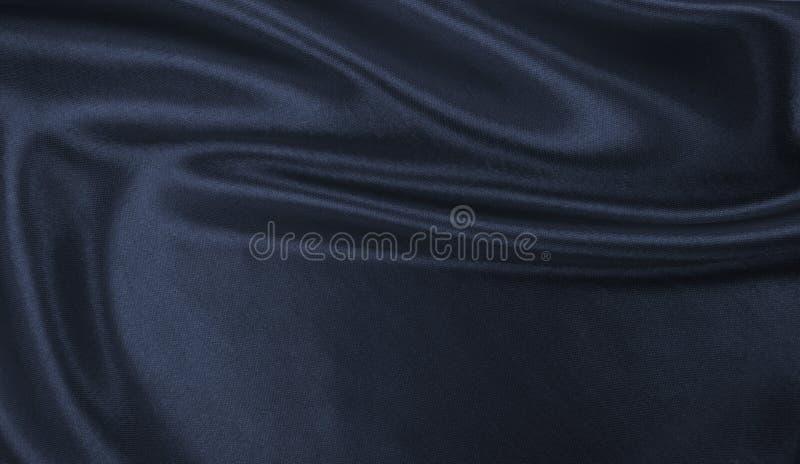 Ровная элегантная темная серая текстура шелка или сатинировки как абстрактное backg стоковое фото