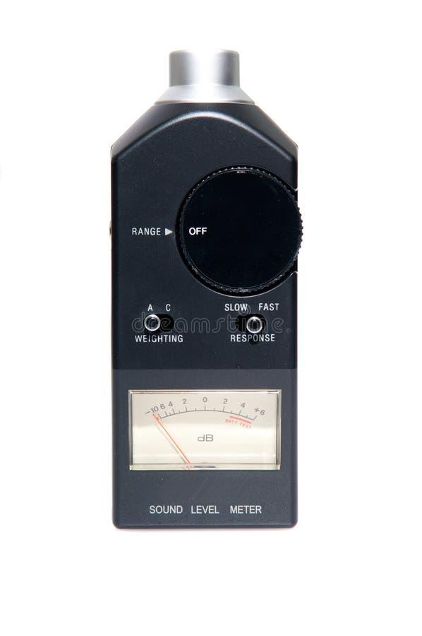 ровный звук метра стоковое фото rf