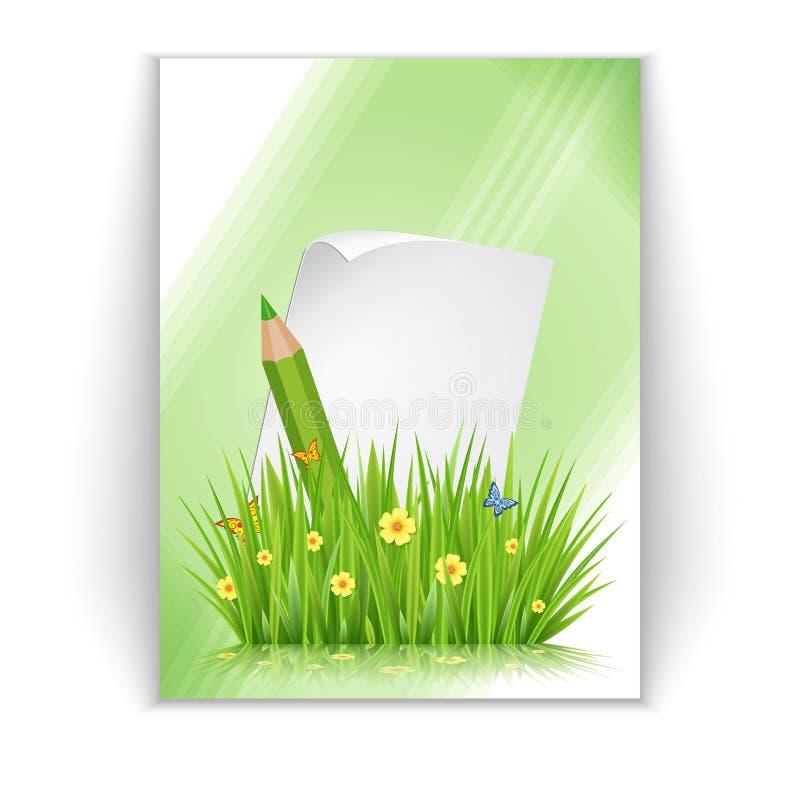Рогулька весны иллюстрация вектора