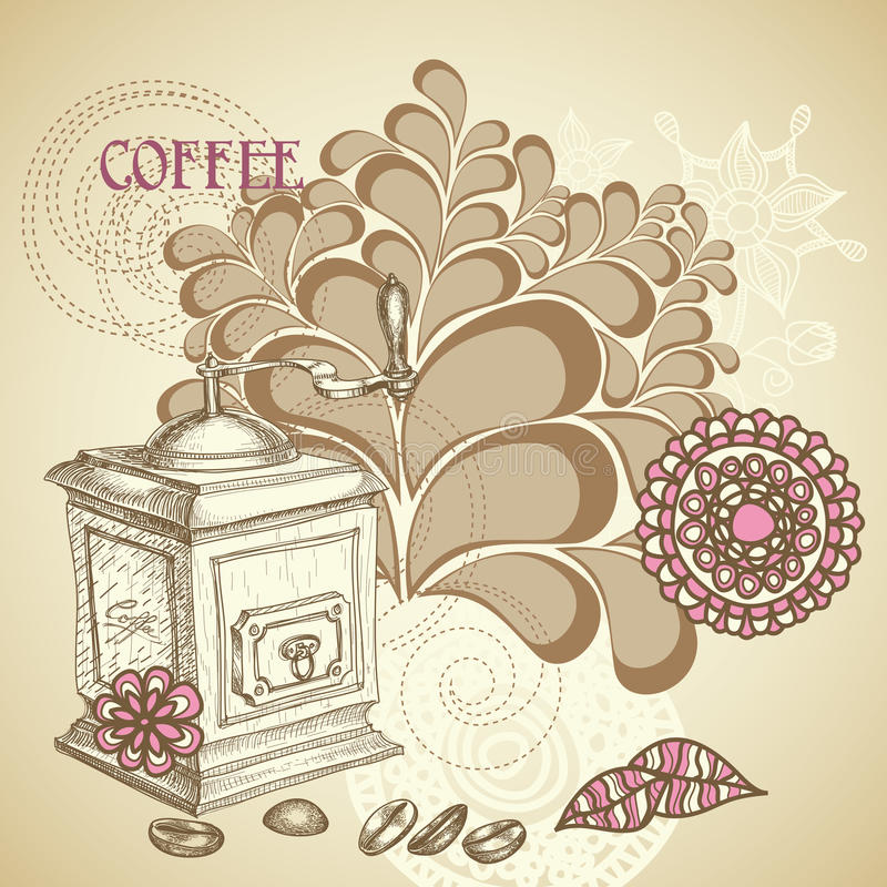 Рогулька кофейни бесплатная иллюстрация