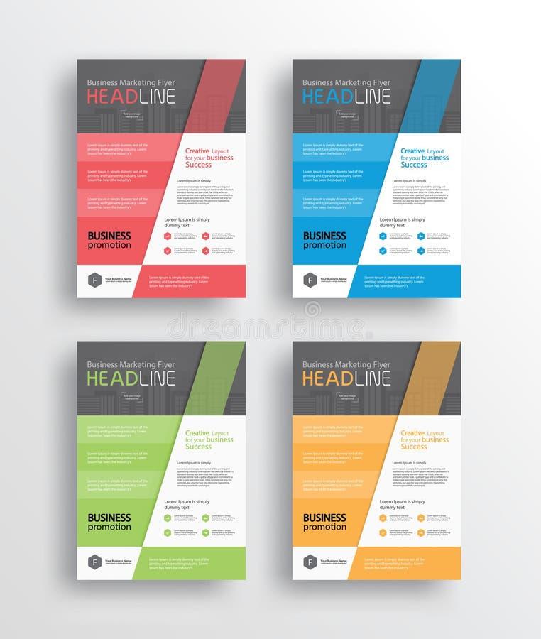 рогулька /brochure/poster/ маркетинга дела и отчет конструируют шаблон иллюстрация штока
