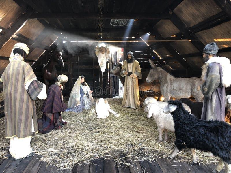 Рождение Иисуса стоковое фото