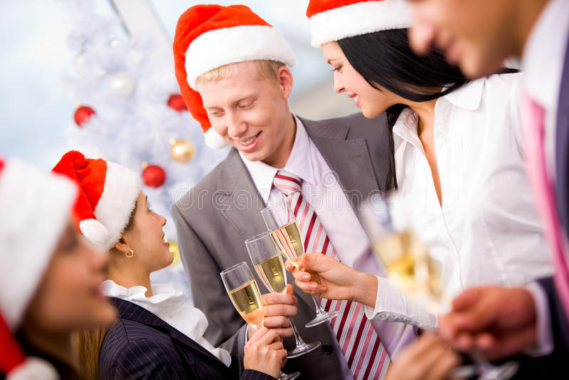 рождественская вечеринка стоковое фото