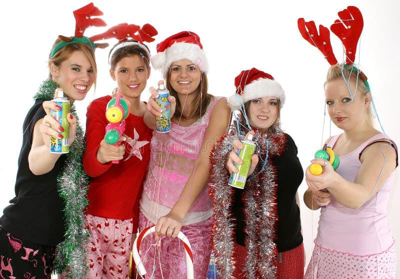рождественская вечеринка стоковое фото rf