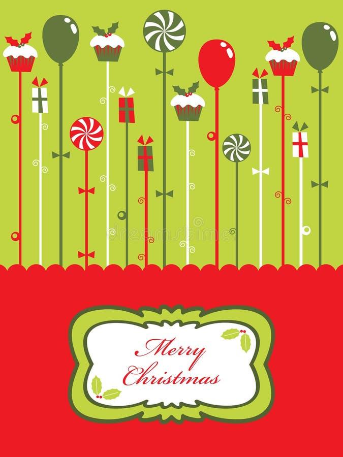 рождественская вечеринка иллюстрация штока