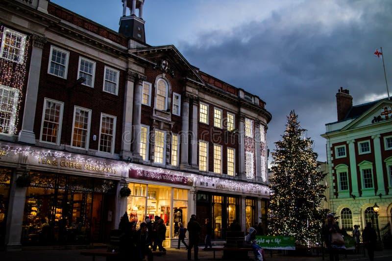 Рождественская елка 2 Йорка стоковые фотографии rf