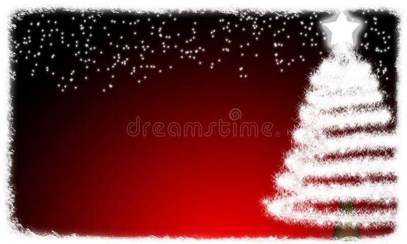 рождественская елка карточки стоковое изображение rf