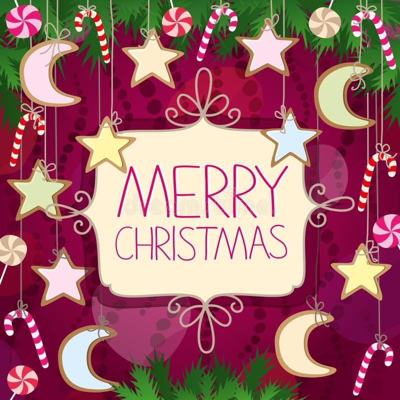 Рождественская открытка стоковое фото
