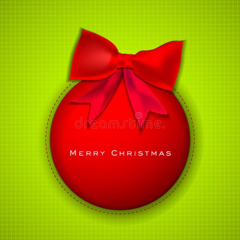 Рождественская открытка. иллюстрация штока