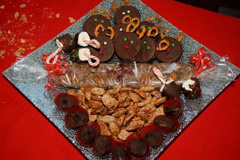 Рождественские конфеты стоковая фотография rf