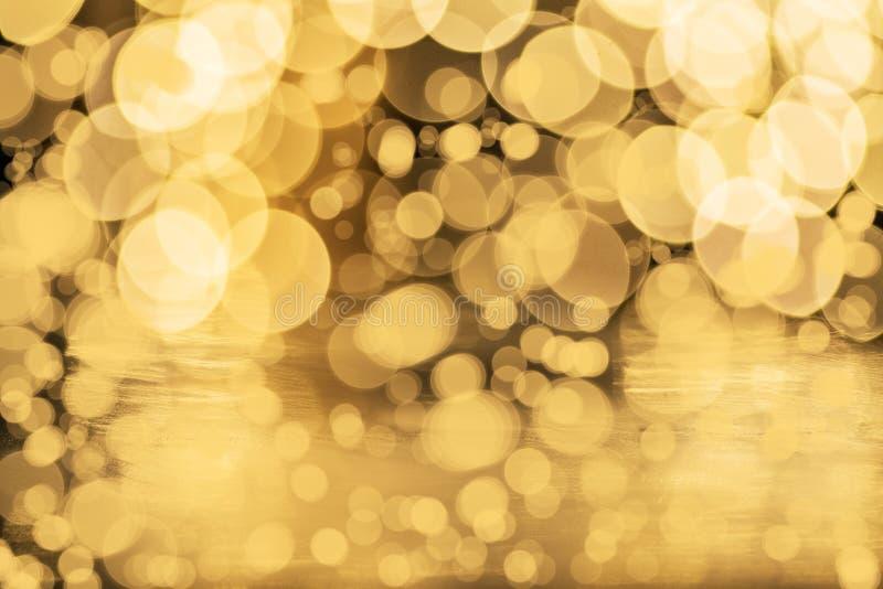 Рождественский фон с красивым бокехом стоковое изображение