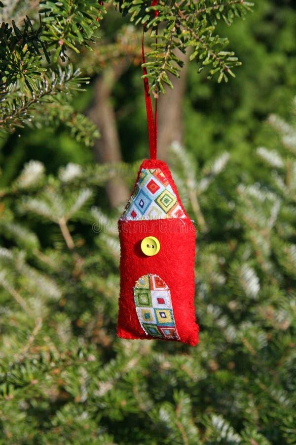 Рождественское украшение ручной работы стоковая фотография