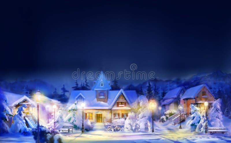 рождество веселое иллюстрация штока