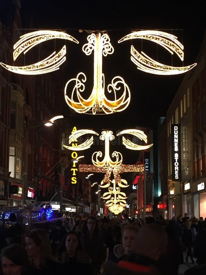 Рождество в воздухе стоковое изображение