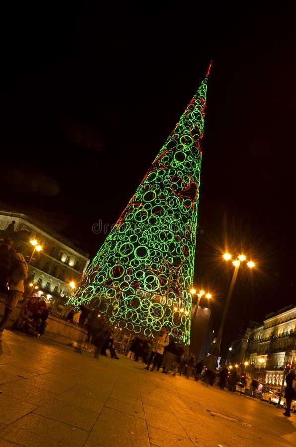 Рождество в Мадрид - Испании стоковое изображение rf