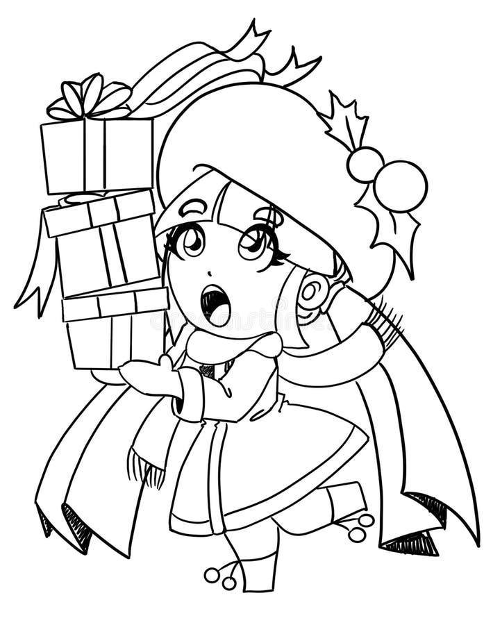 Рождество для каждого иллюстрация штока