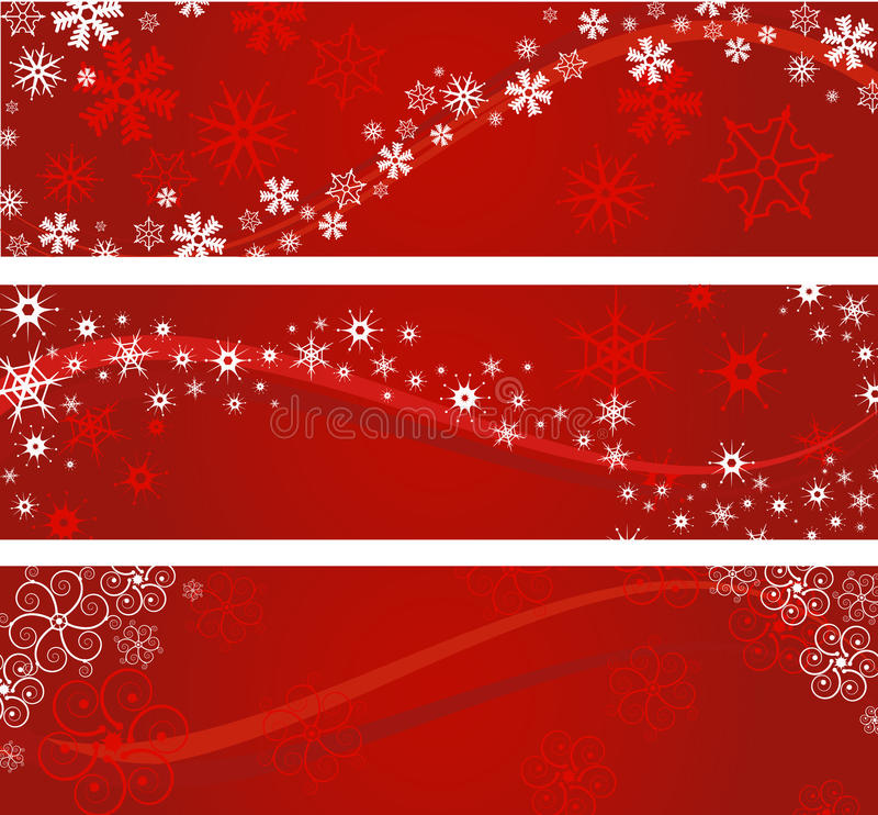рождество знамен иллюстрация штока