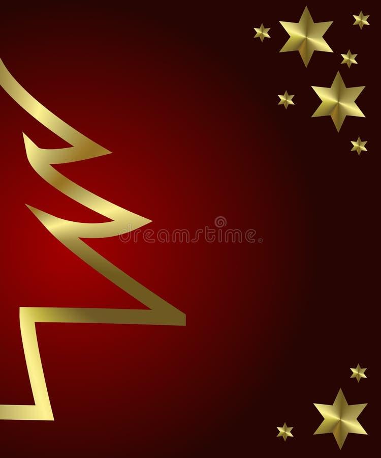 Download рождество золотистое иллюстрация штока. иллюстрации насчитывающей картина - 6860884