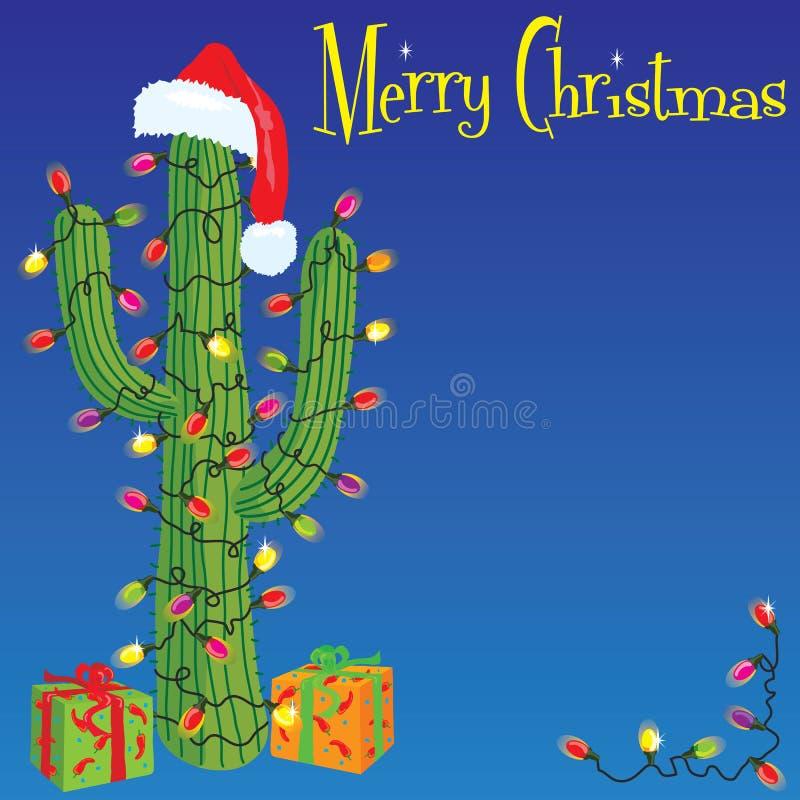 рождество кактуса