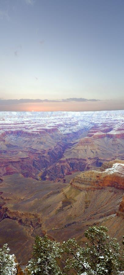 рождество каньона az грандиозное стоковые изображения