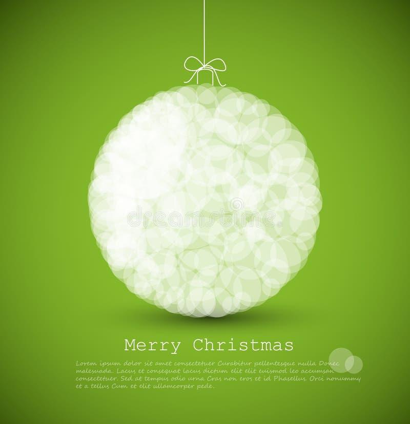 рождество карточки самомоднейшее иллюстрация вектора