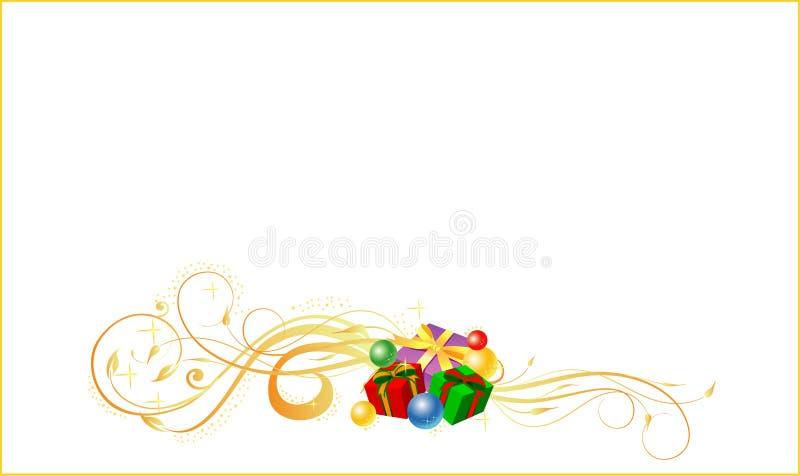 рождество карточки иллюстрация штока