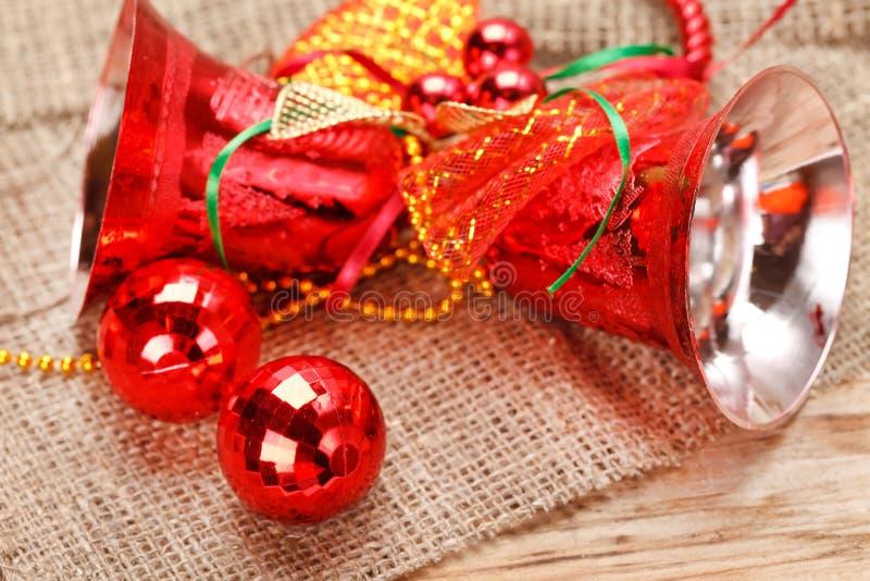 рождество колокола стоковые изображения rf
