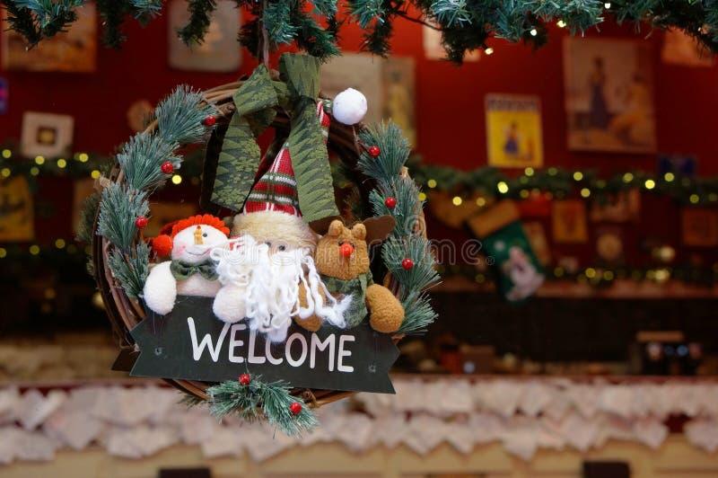 рождество, котор нужно приветствовать стоковое изображение
