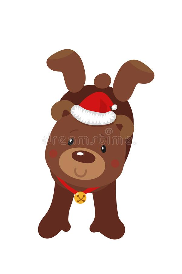 рождество медведя милое белизна вектора акулы иллюстрации предпосылки бесплатная иллюстрация