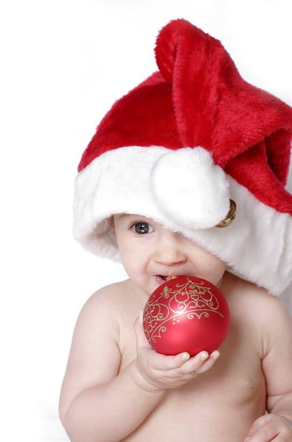 рождество младенца милое стоковое изображение rf